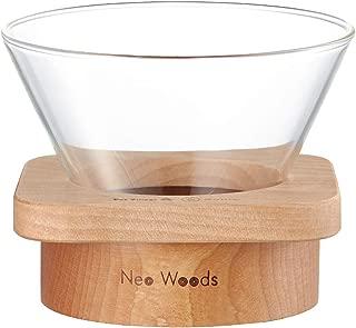 Kalita Wave Dripper Square Neo-Wood & Glass - 185