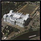 Germanposters Christo Reichstag Luftaufnahme von Ost nach