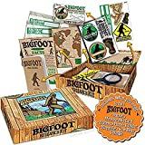 Archie McPhee Accoutrements Bigfoot Sasquatch Outdoor Research Kit Novelty Gift, Multicolored, 7' x 5' x 1-1/2'