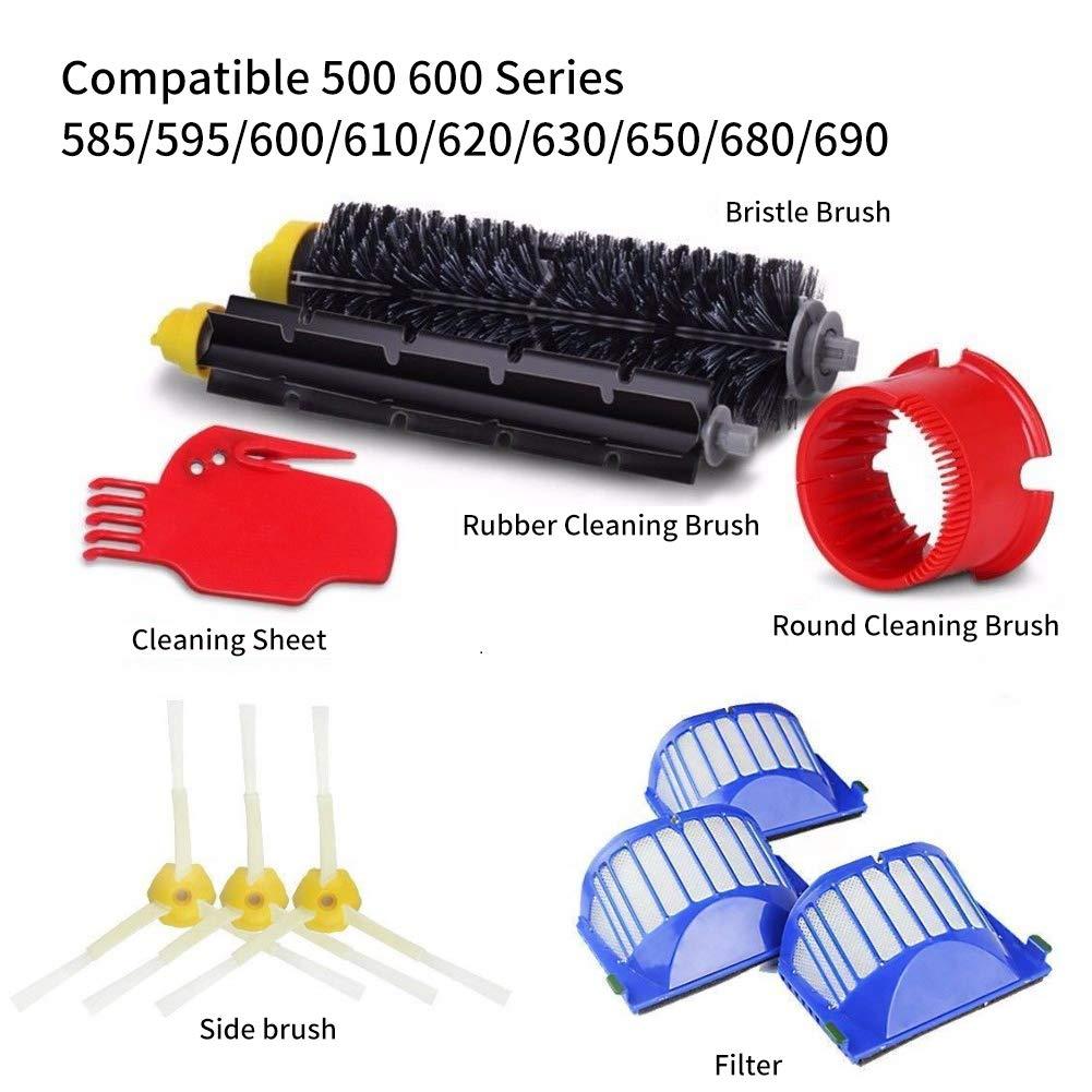 Vistefly Kit de accesorios de repuesto para iRobot Roomba Serie ...