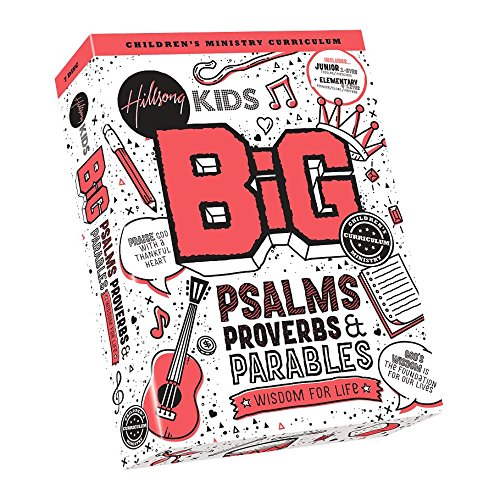 Great Features Of Kids Big Psalms Proverbs & Parables Complete