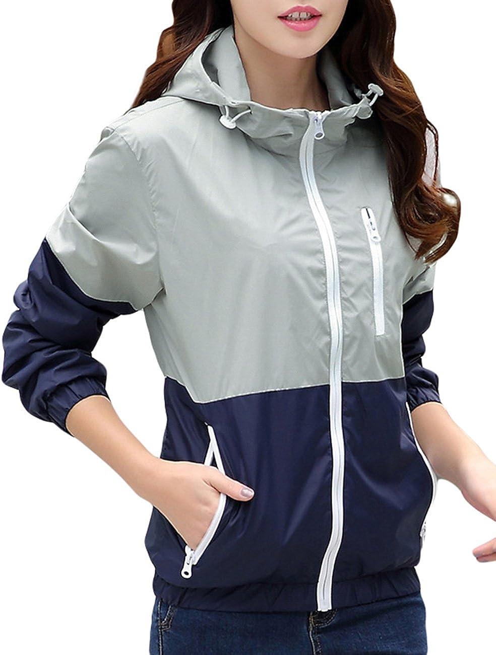 Women's Sun Protect Outdoor Jacket Quick Dry Windproof Water RepellentCoat