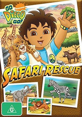 Go Diego Go! - Safari Rescue [NON-USA Format / PAL / Region 4 Import - Australia]