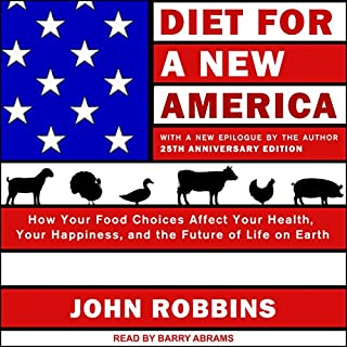 Diet for a New America: 25th Anniversary Edition audiobook cover art