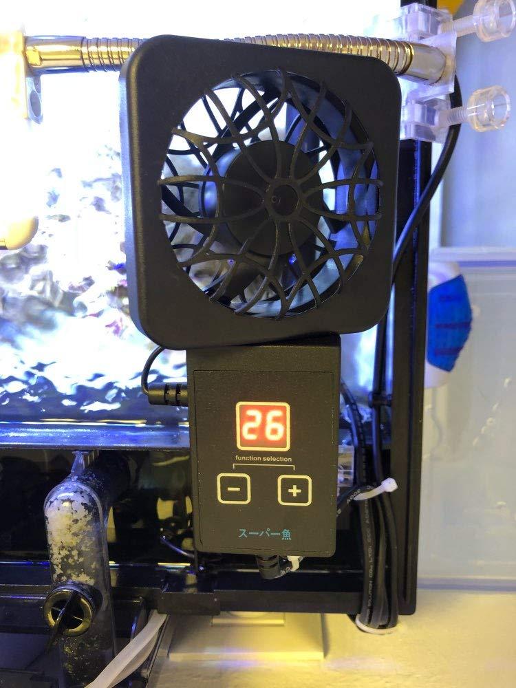 Ventilador Enfriador Programable para Acuario gambario.: Amazon.es ...