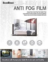 anti fog car mirror