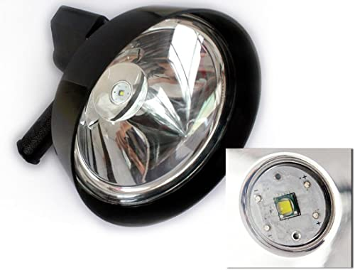 """popular 12V LED 7"""" online 175mm 2021 Handheld Camping Hunting Fishing Strong Lights Spotlights online sale"""