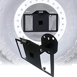 jeep spare tire plate
