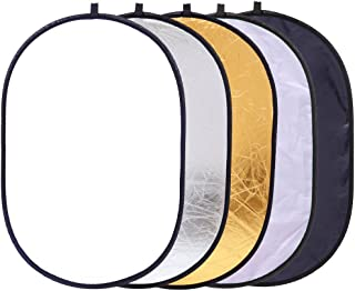 Collapsible 5-in-1 Oval Reflector 23