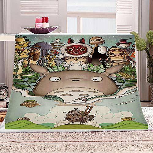 ZFSZSD Wohndecke Cartoon Chinchilla Kuscheldecke Sofadecke Felldecke Decke Tagesdecke Lammfelldecke 59x78.7 inch