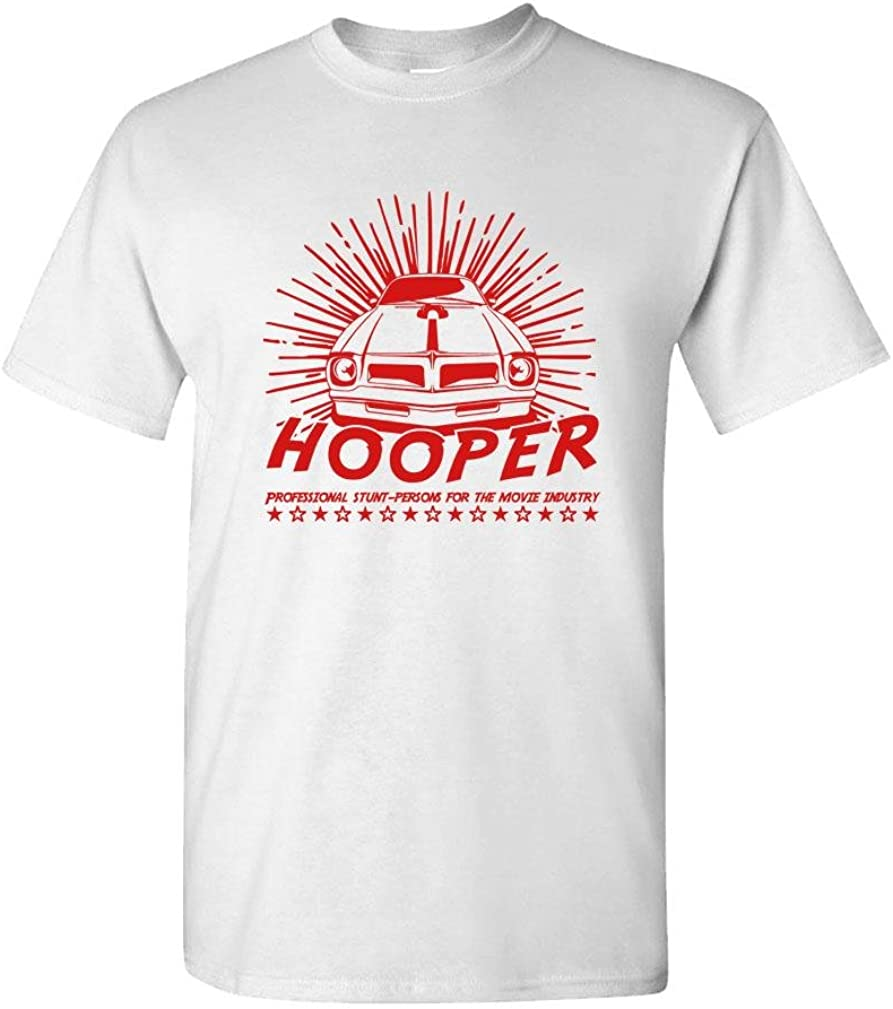 The Goozler Hooper - Stuntman Reynolds Movie 70's Retro - Mens Cotton T-Shirt