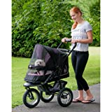 Pet Gear No-Zip NV Pet Stroller for Cats/Dogs, Zipperless Entry, Easy...