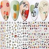Graffiti Fun Nail Art Stickers, Abstract Nail...