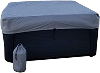 Grey The Cover Guy Extreme 6 Replacement Hot Tub Spa Cover Beachcomber models 89x89x6R