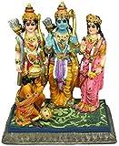 """Krishna Culture Rama Darbar 6.5"""" Statue Sita Ram Laxman Hanuman Idol Golu Doll"""