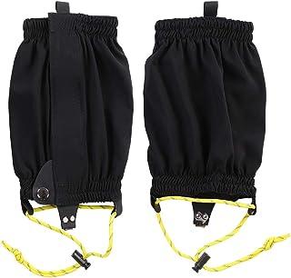 Dioche Polainas Impermeables, 1 Par de Leggings Al Aire Libre Envolturas para Correr A Campo Traviesa Maletas para la Nieve Elásticas Calzado Deportivo