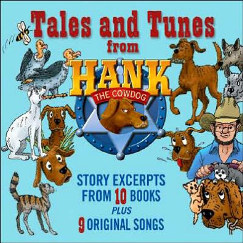 Tales and Tunes from Hank the Cowdog audiobook cover art