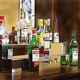 back bar display bottles