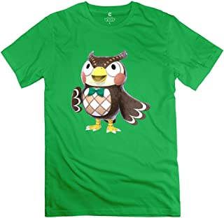 Male Blathers Animal Crossing New Leaf Design Causal Natural T-Shirts By Mjensen