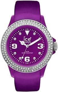 Ice Watch Unisex-Adult Quartz Watch, Analog Display and Leather Strap STPSUL10