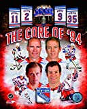 New York Rangers Core Of '94 Mark Messier, Mike Richter, Adam Graves, and Brian...