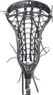 Under Armour UA Regime Girls Lacrosse Head with Rail Pocket - Head Only-Black