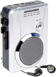 Am/Fm Pocket Radio Cassette Player, Portable Personal Voice Audio Recorder Walkman Player Built-in Speaker