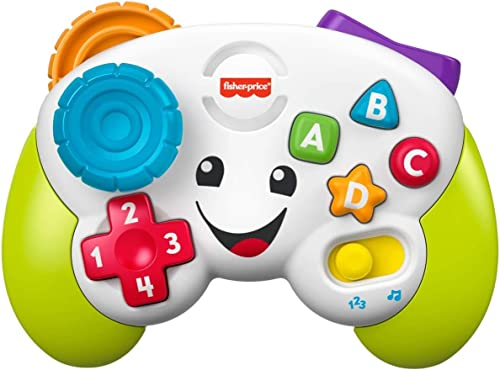 Fisher-Price Laugh and Learn Game and Learn Controller, Musical Toy with Lights and Learning Content