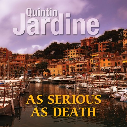 As Serious as Death audiobook cover art