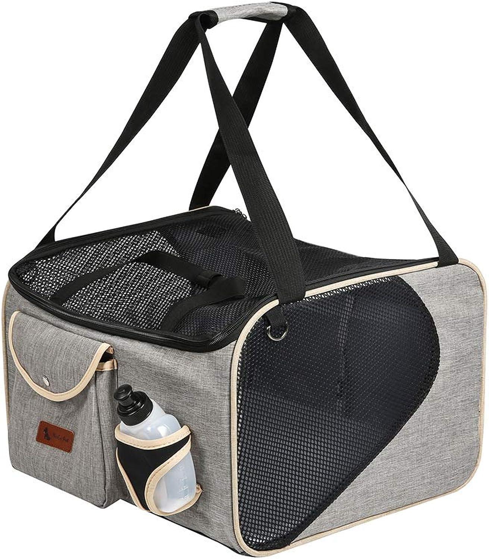 8ad3cdb4c1 ... Cmylbaanm Fauna Pet Travel Carrier Dog Cat Puppy Lightweight Luxury  Folding Airplane Bag with Soft Cushion