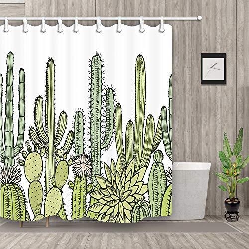cortinas ducha cactus