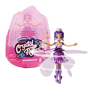Hatchimals Pixies Crystal Flyers Flying Doll - Purple