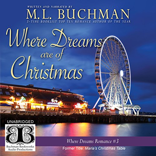 Where Dreams Are of Christmas audiobook cover art