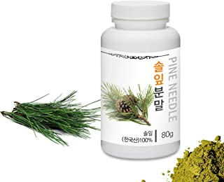 [Medicinal Herbal Powder] Prince Natural Pine Needle Powder/프린스 솔잎분말, 2.8oz / 80g (Pine Needle/솔잎)