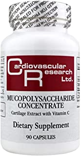 Cardiovascular Research Mucopolysaccharide Concentrate, White, 90 Count