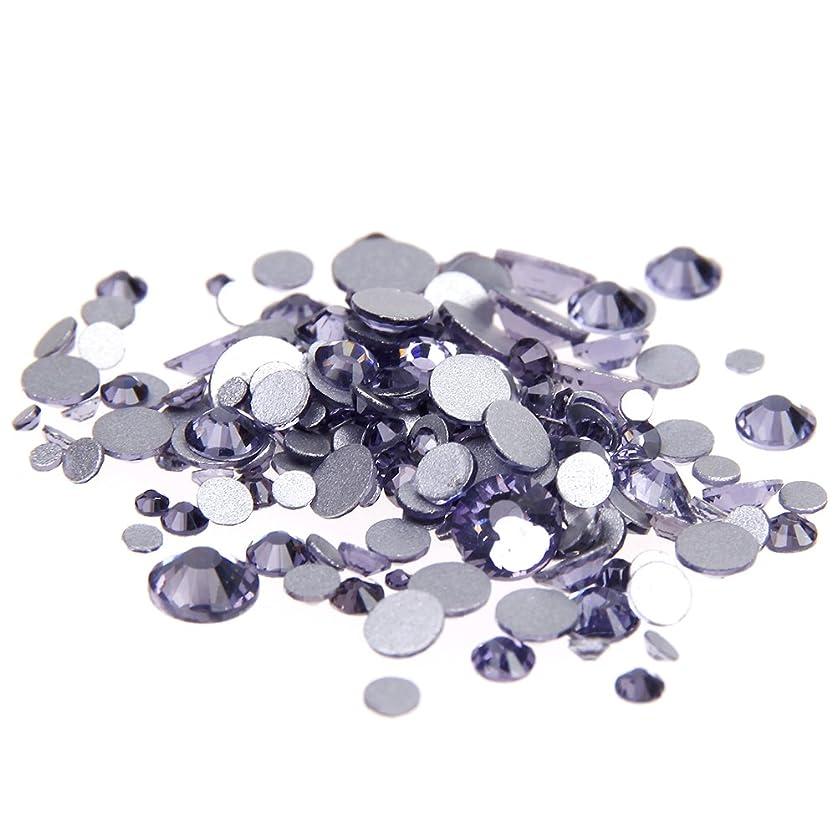 懐疑論おびえたガードNizi ジュエリー ブランド タンザナイト ラインストーン は ガラスの材質 ネイル使用 型番ss3-ss34 (SS5 1440pcs)