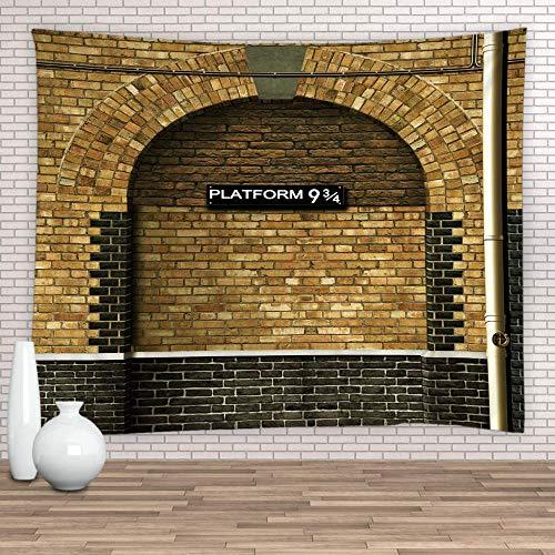 giyiohok Tapiz 100% poliéster decoración de pared para habitación de niños (90 x 71 pulgadas) (230 x 180 cm) Cwt-289-(70 x 70 pulgadas) (180 x 180 cm)_Cwt-288
