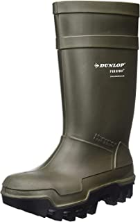 Green Dunlop Thermo Boots, S5 - 8 - C662933
