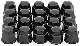 17mm Chrome Lug Nut Covers 20pc Set for Truck SUV Van Wheel Rim Bolt Center Caps