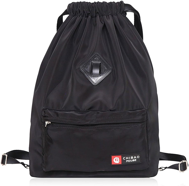eac5a8e63f63 DEI QI Backpack Travel Simple Backpack Nylon Waterproof Female ...