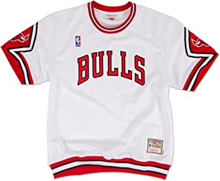 Chicago Bulls Authentic Shooting Shirt - Traditional -White