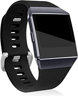 HEYUS for Fitbit Ionic Band Replacement Band Silicone Wristband, Women Men Adjustable Replacement Straps for Fitbit Ionic ...