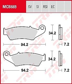 AHL 3 paires Plaquettes de frein kit pour XRV 750/P//R//S//T//V//W//X//Y/Africa Twin 1994-2003