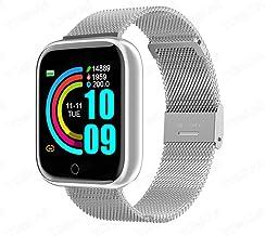 UIEMMY slim horloge Vrouwen Mannen Smart horloge waterdicht Sport Polshorloge Fitness Armband Tracker Hartslagmeter voor A...