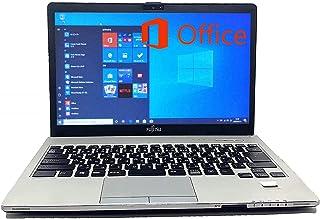 【MicrosoftOffice 2019&Windows10搭載】 富士通LIFEBOOK S935 第5世代Core i5@2.3GHz/メモリ 6GB/SSD 512GB/13.3インチFHD/Webカメラ (SSD512GB) (整備済み品)