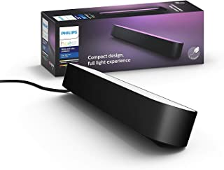Philips Hue Play - White & Colour Ambiance Smart LED Bar Light - Black 1 Pack (Base Kit)
