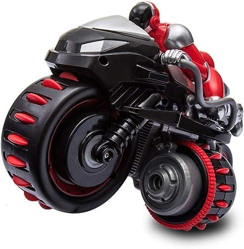 barato en alta calidad ELVVT 2.4GHz Control Remoto Truco Motocicleta Furioso Furioso Furioso 25.7  15  16.3 cm RC Motocicleta 360 Girar Truco Coche de Alta Velocidad Anti Knock Niños y Adultos Cumpleaños Carreras  promociones de equipo