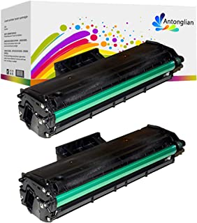 Antonglian Compatible Toner Cartridge Replacement for Samsung 111S MLT-111S MLT-D111S Use in Samsung Xpress SL-M2020 M2020W M2070 M2070W M2070FW M2070F M2022 M2022W (2-Black)