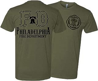 Philadelphia Fire Department Liberty Bell Black Print Apparel