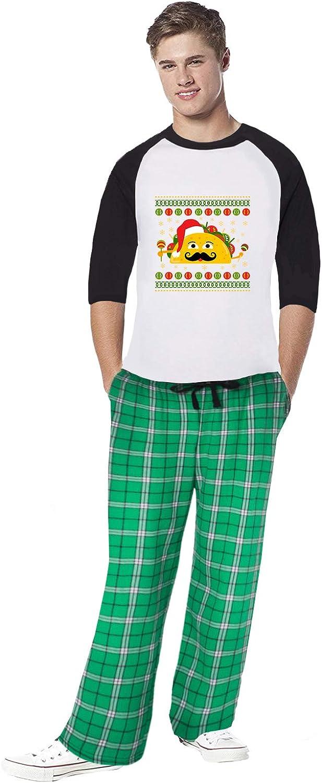 Awkward Styles Family Christmas Pajamas for Men Xmas Taco Sleepwear Mens Pajama Sets